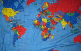 Map Fabric World Map Fabric Aol Image Search Results