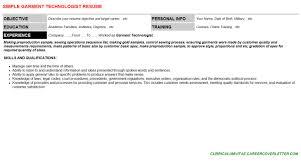 garment technologist cover letter u0026 resume