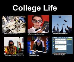 What I Really Do Meme - what my friends think i do college life what my friends think i do