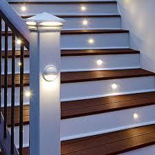 trex post cap lights trex led pyramid post cap light trex led rail light and trex