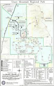 Arizona Spring Training Map by Flora Of Usery Mountain Regional Park And Pass Mountain Region Of