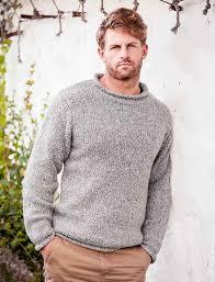 fisherman sweater roll neck sweater aran fisherman sweater mens