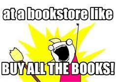 Buy All The Books Meme - drinking wine meme google search birthday greetings