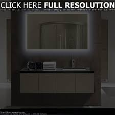 42 inch frameless mirror vanity decoration