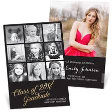 graduation announcement glittering grad graduation announcements pear tree