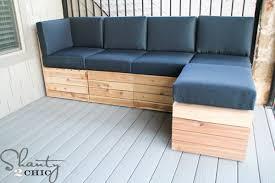 brilliant homemade patio sectional ana white platform outdoor