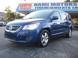volkswagen minivan routan volkswagen routan se 1 owner hami motors inc u2013 great car deals