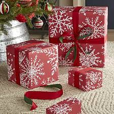 christmas gift wrap paper christmas wrapping paper ribbon tags crate and barrel