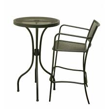 steel mesh patio table with legs tsps
