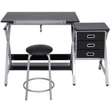 Drafting Table Computer Desk Best Choice Products Office Drawing Desk Station Adjustable Drafting T