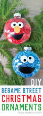diy sesame street ornaments hey u0027s stuff