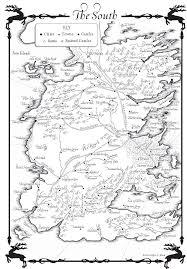 Game Of Thrones Google Map A Game Of Thrones U2013 Maps Random House Books