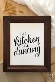 Chalkboard Ideas For Kitchen by Black And White Kitchen Art Free Printables Mesmerizing Kitchen