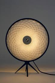 jona messerli u0027s sol lamp has a noguchi inspired paper shade cut