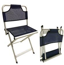 Camping Chair Accessories Large Camping Aluminium Folding Stool Chair With Backrest