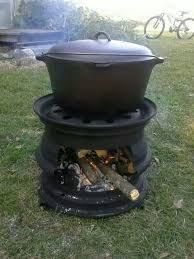 Firepit And Grill by Recycled Tire Rim Bbq And Fire Pit Ideas2live4