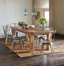 Rustic Wood Dining Room Table Gorgeous Plank Dining Table 23 Rustic Appeal Of Throughout Wood