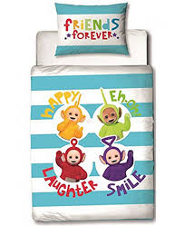 Junior Cot Bed Duvet Set Teletubbies Playtime 4 Piece Bedding Set Price Right Home