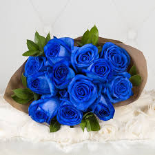 blue roses one dozen blue roses oshawa on florist