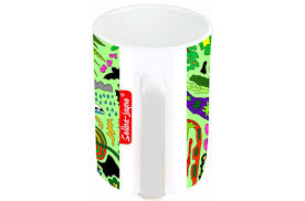 jayne tropical paradise limited edition designer mug and coaster