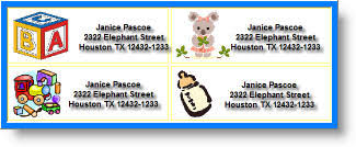 free address labels free custom and personalized address labels maker