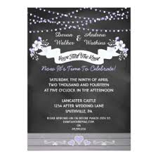 post wedding reception invitation wording post wedding party invitations announcements zazzle