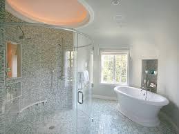 how to install transparent glass tile gl bathroom wall ideas
