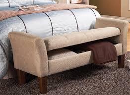 Bedroom Storage Ottoman Lovable Upholstered Storage Benches For Bedroom Bedroom Famed