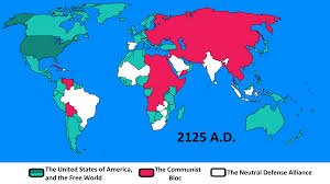 Blank World War 2 Map by The Long Cold War American View By Goliath Maps On Deviantart