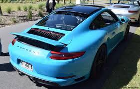 blue porsche 911 2017 porsche 911 miami blue 36