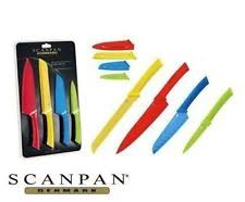 coloured kitchen knives set kitchen trend 6 coloured knife set with stand best ebay