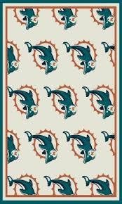 Miami Dolphins Rug Sport Rug Specials Rug Specials Area Rugs Beckler U0027s Carpet