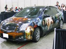 nissan car 2013 otakon 2013 the lord of the rings nissan car by theredrose100 on