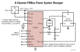 ltc2977 8 channel pmbus power system manager featuring accurate