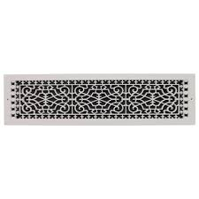 Decorative Wall Return Air Grille Smi Ventilation Products Victorian Base Board 6 In X 28 In