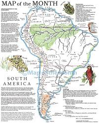 Map Of Northern America by South America Map Maps For The Classroom