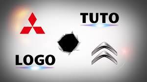 citroen logo history 4 5 logo tuto mitshubishi et citroën youtube