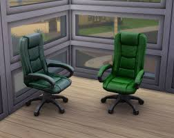 Executive Desk Chairs Mod The Sims Recoloured Boss Executive Desk Chairs