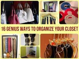 genius ways to organize your closet
