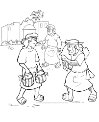 jacob and esau coloring pages creativemove me