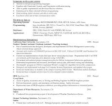 sle programmer resume how to writee for entry level hr make an engineering