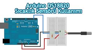 arduino ds18b20 dijital sıcaklık sensörü kullanımı youtube