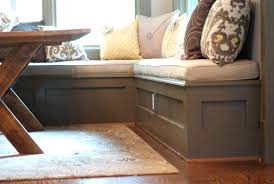 Corner Storage Bench Best Corner Storage Bench Seat Ideas Pict Of Banquette Seating