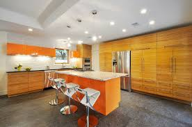Bamboo Kitchen Cabinets Bamboo Cabinets With Eclectic Flare Eclectic Kitchen Austin
