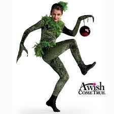 grinch costume a wish come true winter christmas 2017 18 grinch christmas