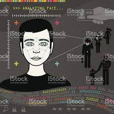 biometric face recognition stock vector art 462640535 istock