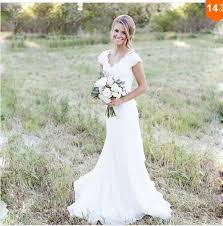 discount eletant full lace wedding dresses mermaid v neck cap