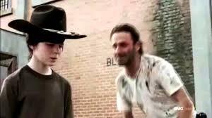Rick And Carl Meme - rick makes fun of carl youtube