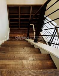 pictures of wood stairs reclaimed wood stair parts reclaimed stair treads olde wood