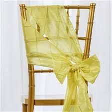 yellow chair sashes pintuck chair sashes table cloths linens runners tablecloth